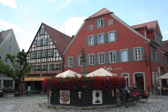 Feuchtwangen, เยอรมนี: fontana