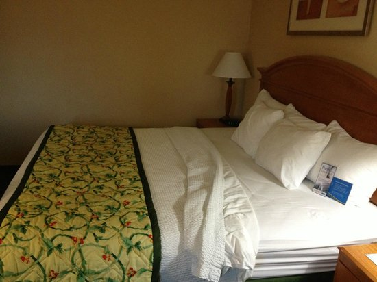Baymont Inn & Suites Canton: the bedroom
