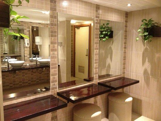 Hilton Hurghada Resort Public Toilet In Hotel Lobby