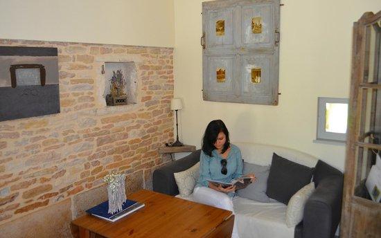 Le Foineau : Sala de estar