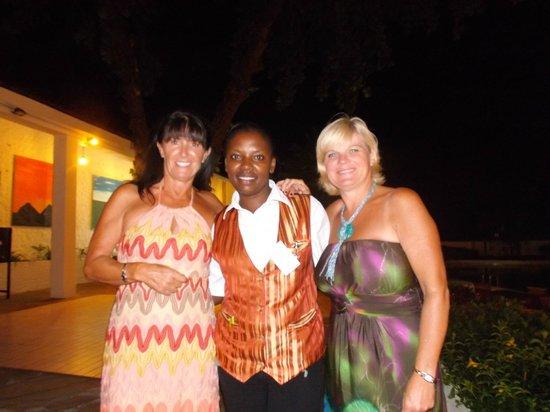 Diani Sea Lodge: with Beth