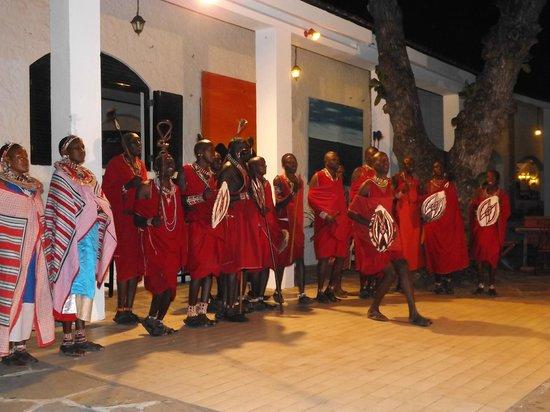 Diani Sea Lodge: entertainment