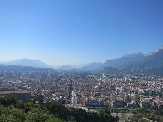 City view photo de bastille t l ph rique grenoble for Agence paysage grenoble