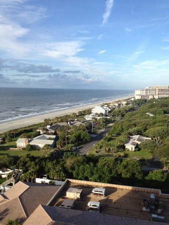Myrtle Beach Marriott Resort & Spa at Grande Dunes: showing the a/c units