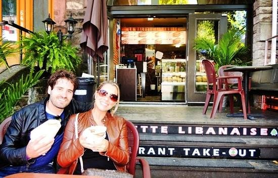 La Galette Libanaise: Best meal in Quebec