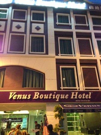 Venus Boutique Hotel: facciata