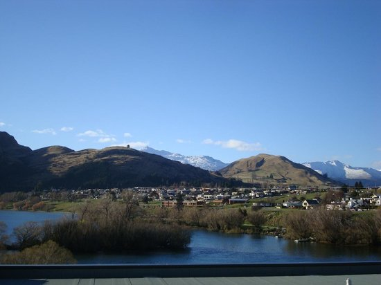 DoubleTree by Hilton Hotel Queenstown: View from our window.