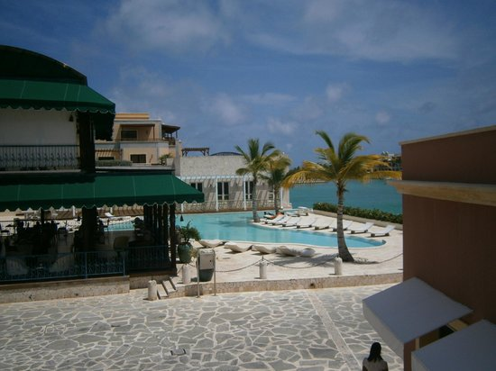 AlSol Luxury Village: Il Cielo restaurant on the Marina