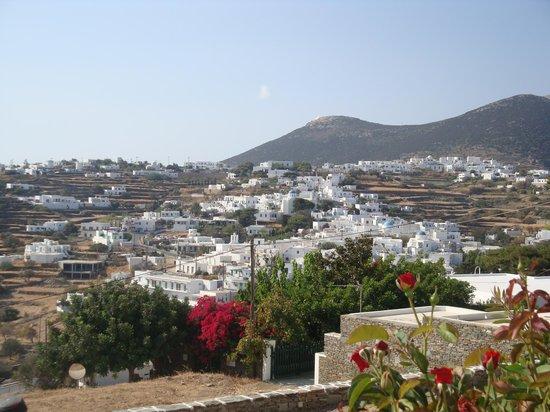 Nikoletta Geronti Pension : θέα προς Απολλωνία