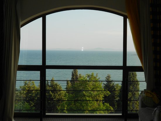 Sol Nessebar Bay: lovely view from our room