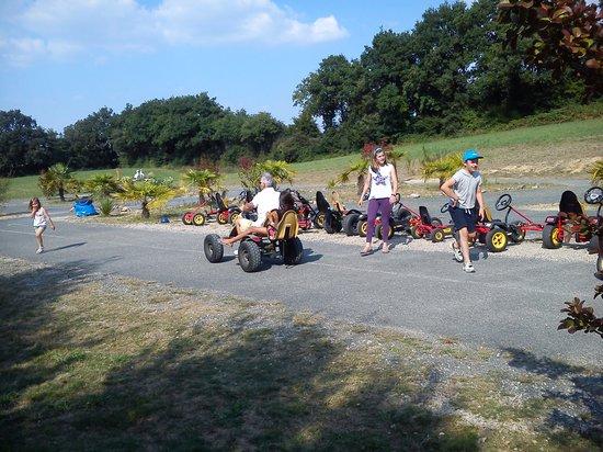 La Garangeoire : Pedal Karting on site!