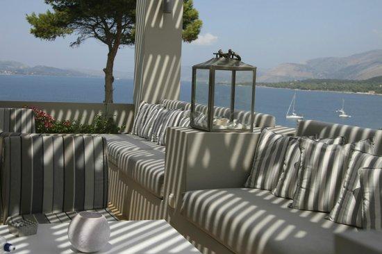 Thalassa Hotel: Terrace view