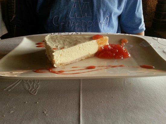 Hotel Boutique & Villas Oasis Casa Vieja: Tarta de queso