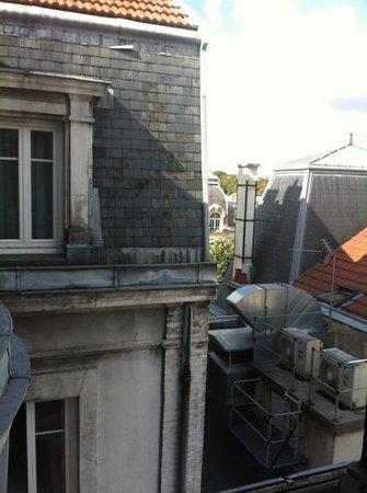 Bristol Hotel : La vue arrière