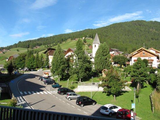Hotel Putia: Blick vom Zimmer Morgenrot