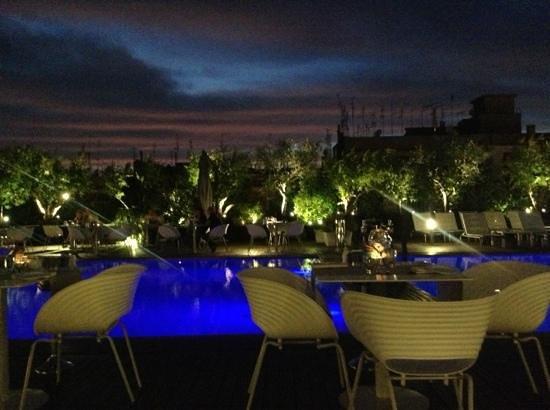 Ristorante bordo piscina picture of radisson blu es hotel roma rome tripadvisor - Hotel piscina roma ...