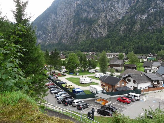 Camping Klausner-Holl: The camping from above