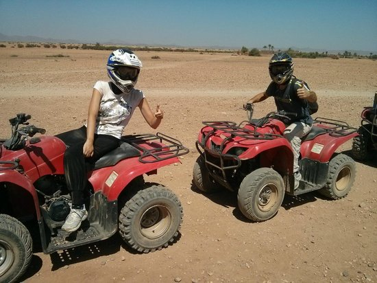 Marrakech Quad Biking : Quad en couple!!