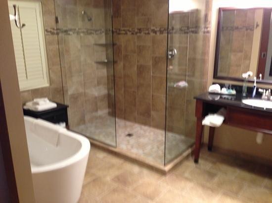 Grand Casino Hotel: suite bathroom