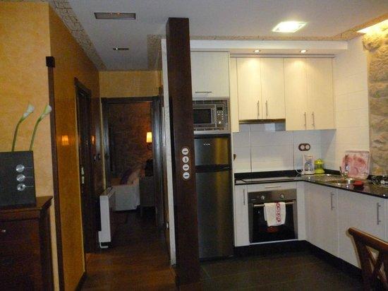 Casa Noelmar: Cocina apartamento