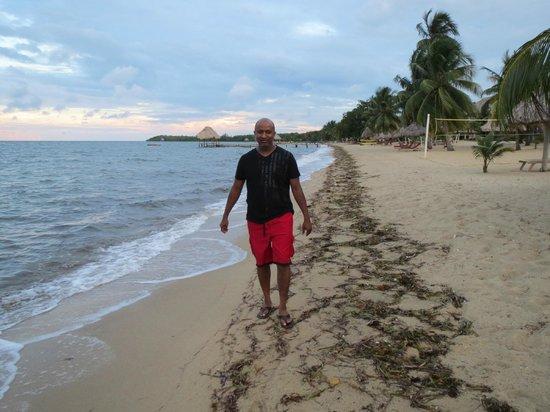 Belizean Dreams: Wallk on the Beach