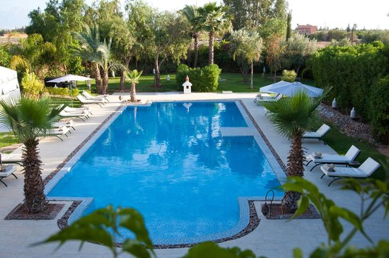 Dar Ilham: vu piscine