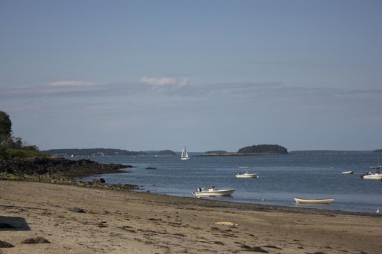 Chebeague Island Inn: Nice afternoon at the beach