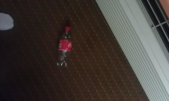 "Super 8 Blue Springs: The old, empty coke bottle left in a ""newly cleaned"" room"