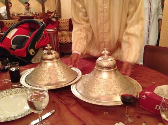 Le Ziryab : Tajin dishes