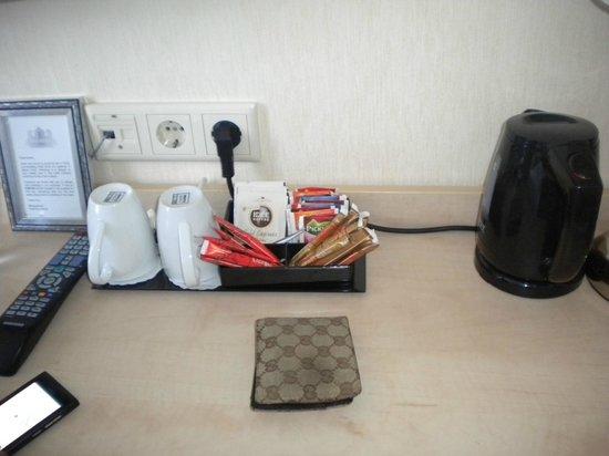 Hotel Iron Horse: caffè e bevande calde