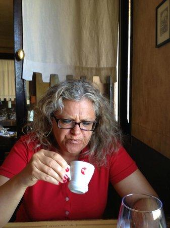 Osteria dell'Accademia : il caffè...non è il massimo