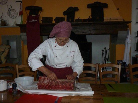 Querceto di Castellina : Chef Laura