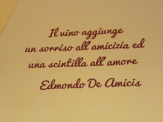 Querceto di Castellina: Wine adds a smile to friendship and a sparkle to love