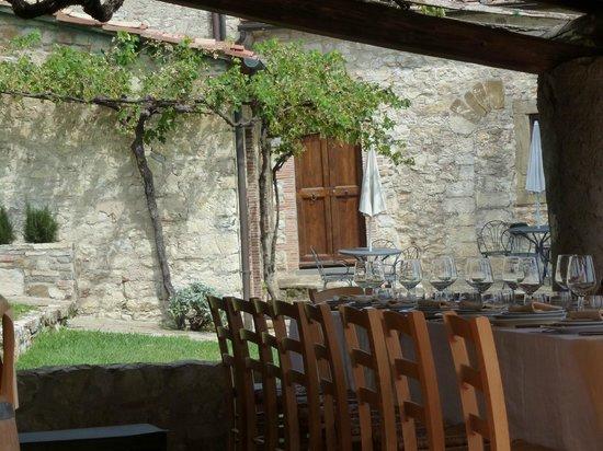 Querceto di Castellina : Al fresco lunch