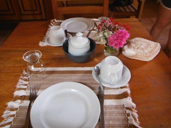 Jeri Pousada: Café da Manhã - Mesa