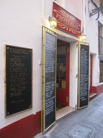 Restaurant Provenzal : Exterior del negocio.