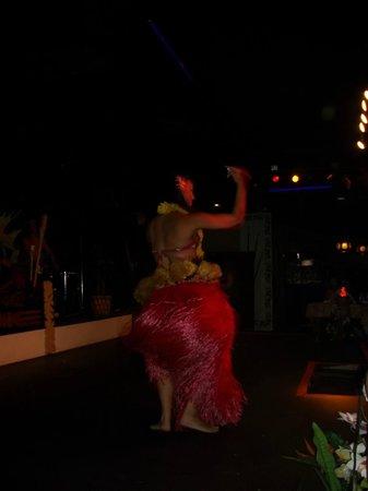 Hawaiian Inn: one of the hula dancer