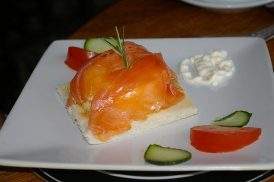 Sea Shore Farm Guesthouse : That's what I call Salmon and Eggs