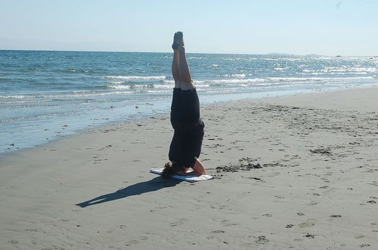 Heat to Heal : Enjoying the freash air and serenity of a beach practice