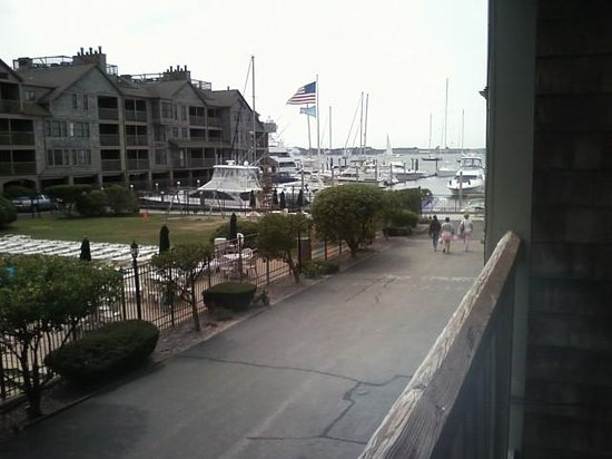 ويندام نيوبوت أون شور: View from living kitchen balcony
