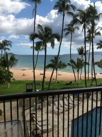 Mana Kai Maui: view from our lanai