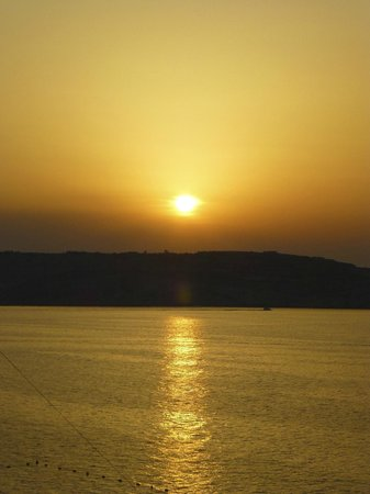 Sunseeker Holiday Complex: Stunning sunsets from our balcony