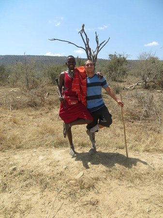 Maji Moto Eco Camp: Sankale and Brian