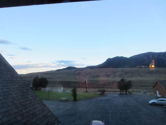 Yellowstone Village Inn: view from 2nd floor room