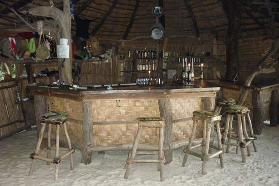 Jungle Junction Bar - help yourself, note it in the book, it's all good