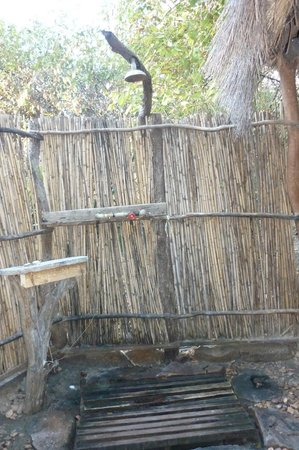Jungle Junction: Surrounded by nature while having a nice warm shower