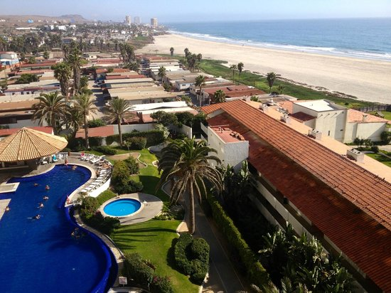 Rosarito Beach Hotel: View from Pacifico Tower Room 602