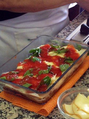 Mamma Agata - Cooking Class : Eggplant Parmesan