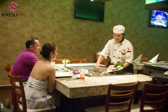 Katsu-Ya: Teppanyaki preparado directamente en tu mesa