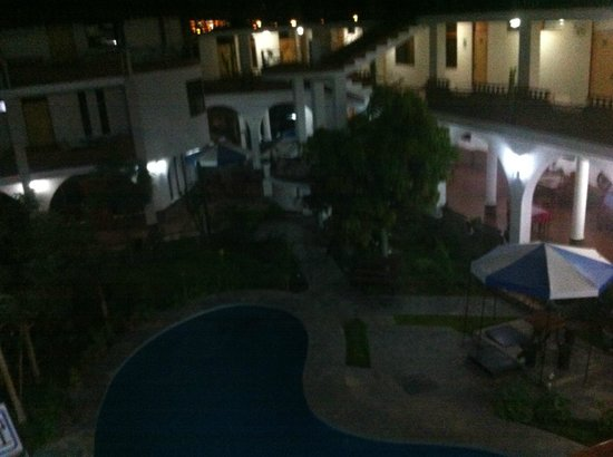 Hotel Alegria: Vista Zona Común